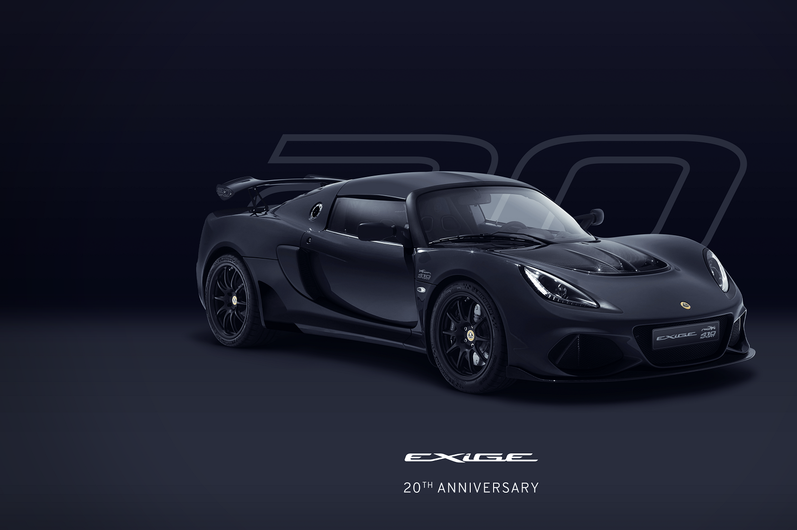 Exige 20th Anniversary_Black_Hero_Front