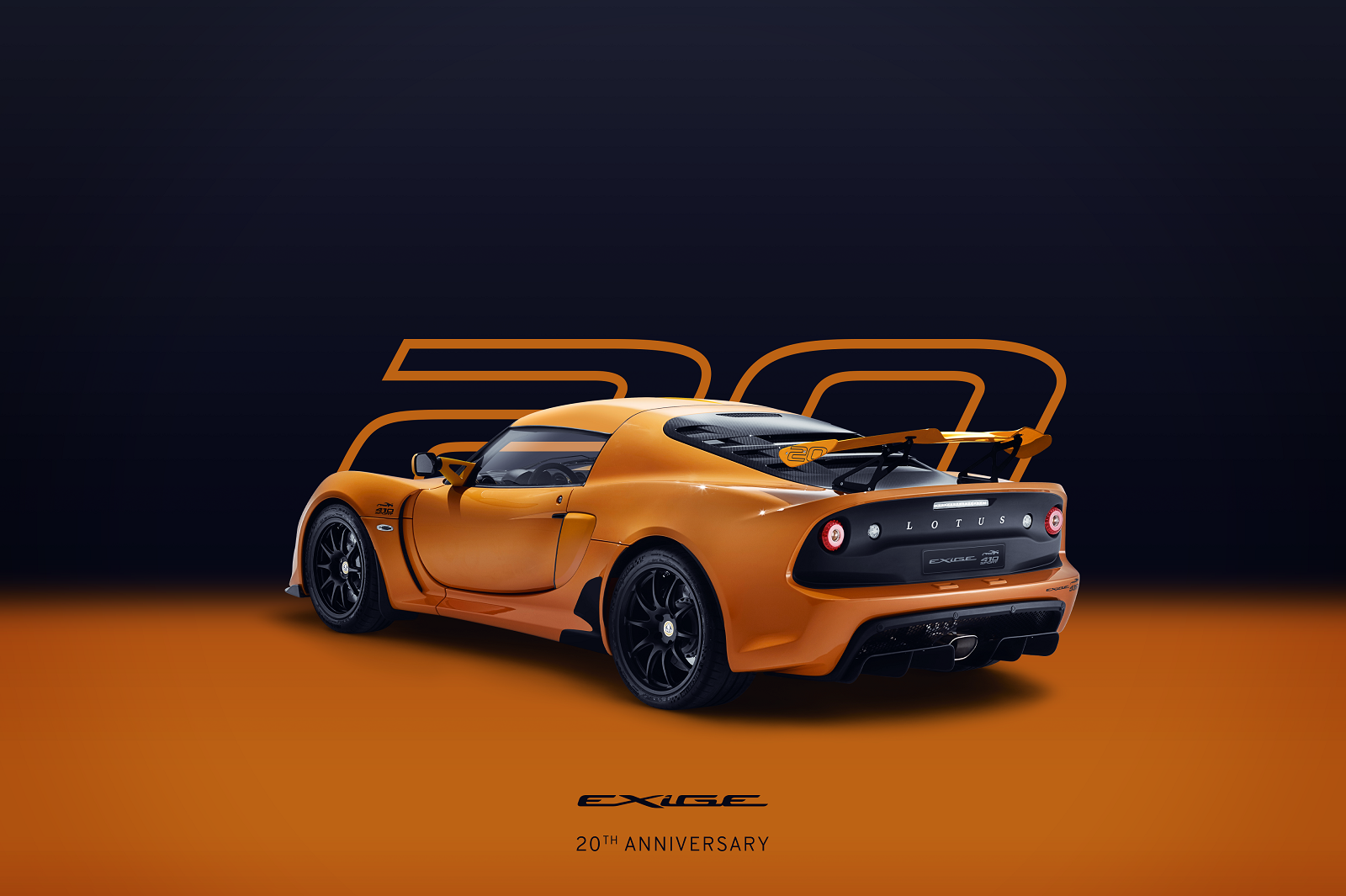 Exige-20th-Anniversary_Orange_Square_Rear