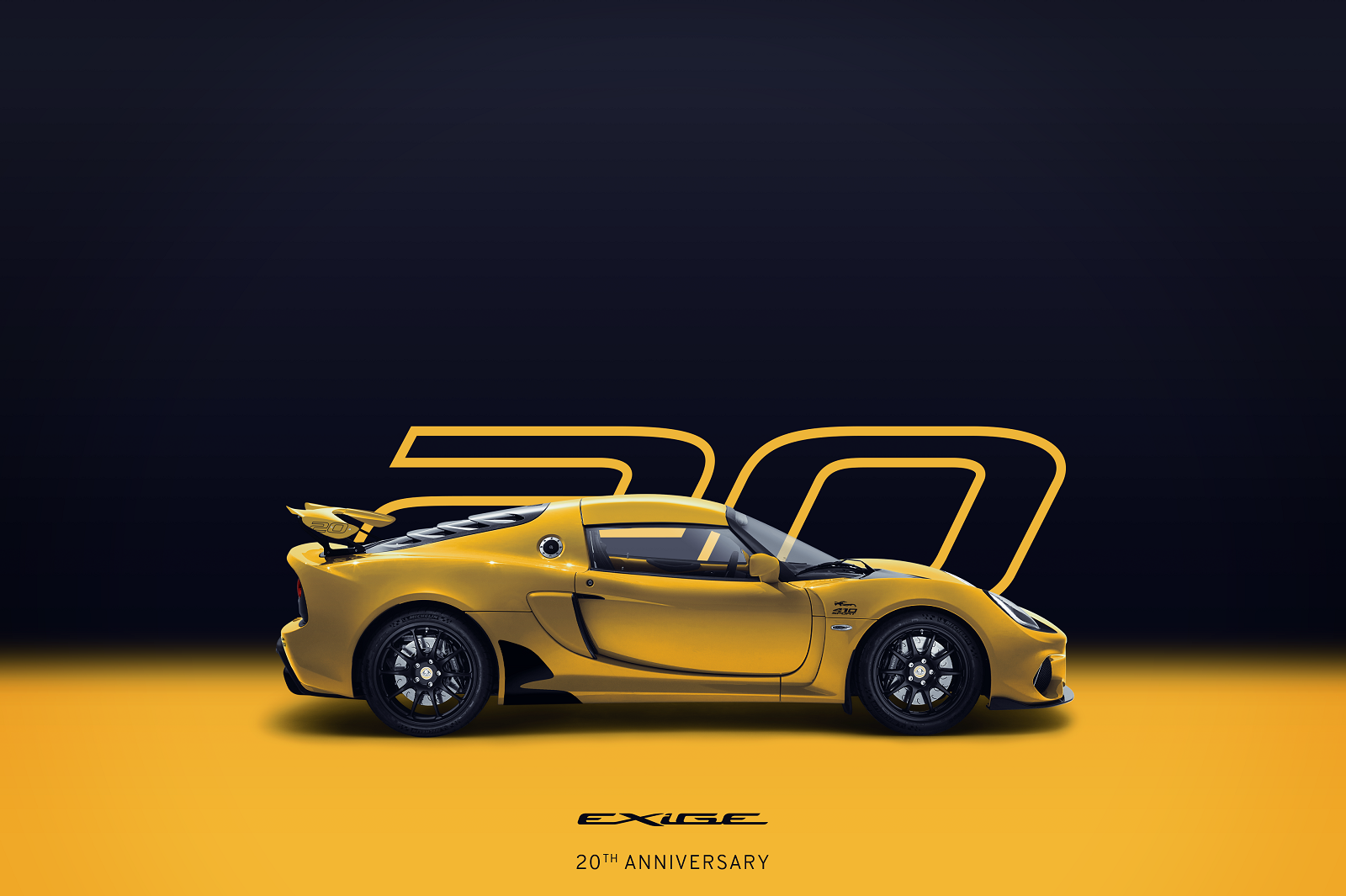 Exige-20th-Anniversary_Yellow_Square_Side